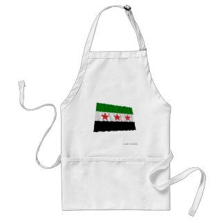 Bandera que agita de Siria (1932-1958 y 1961-1963) Delantal