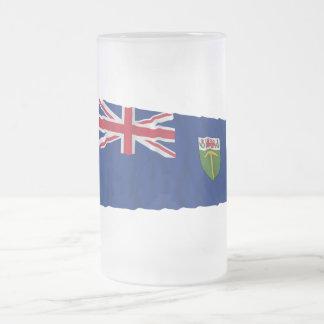 Bandera que agita de Southern Rhodesia (1923-1953) Taza