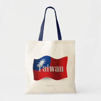 Bandera que agita de Taiwán Bolsas