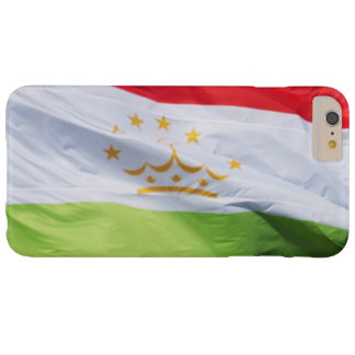 Bandera que agita de Tayikistán Funda De iPhone 6 Plus Barely There