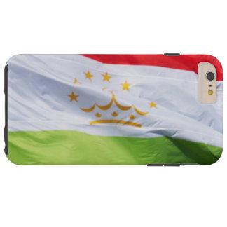 Bandera que agita de Tayikistán Funda Para iPhone 6 Plus Tough