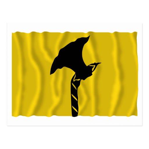 Bandera que agita de Telemark Postal