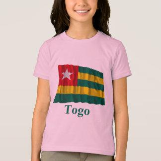 Bandera que agita de Togo con nombre Playera