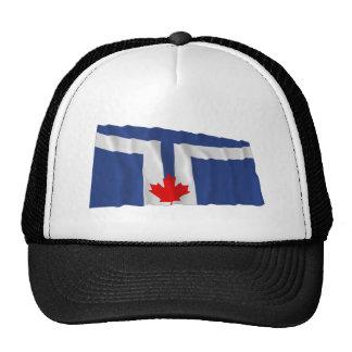 Bandera que agita de Toronto Gorras