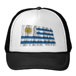 Bandera que agita de Uruguay Gorro De Camionero