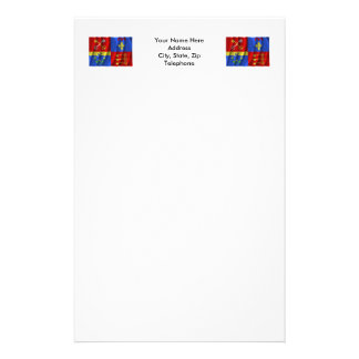 Bandera que agita de Vaucluse Papeleria