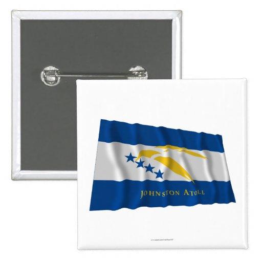 Bandera que agita del atolón de Johnston Pin