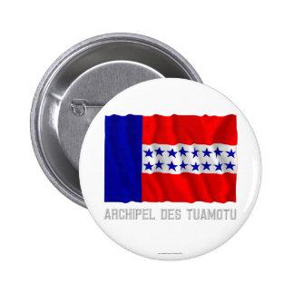 Bandera que agita del DES Tuamotu de Archipel con  Pins