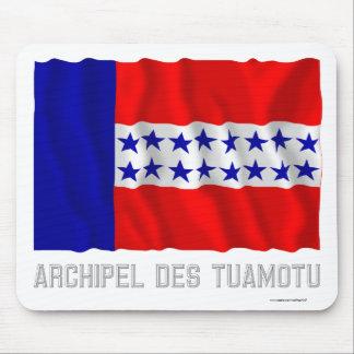 Bandera que agita del DES Tuamotu de Archipel con  Tapetes De Ratón