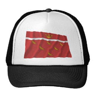 Bandera que agita del este de Sussex Gorros Bordados