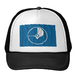 Bandera que agita del ladrido gorras