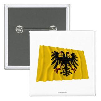 Bandera que agita del Sacro Imperio Romano Pin
