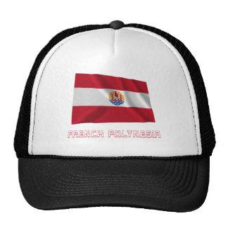 Bandera que agita francesa de Polinesia con nombre Gorras De Camionero