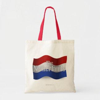Bandera que agita holandesa bolsas