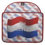 Bandera que agita holandesa funda macbook pro