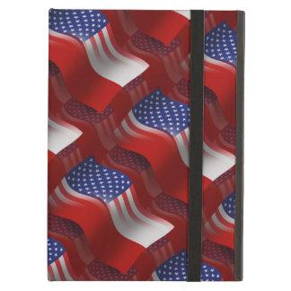Bandera que agita Pulimento-Americana