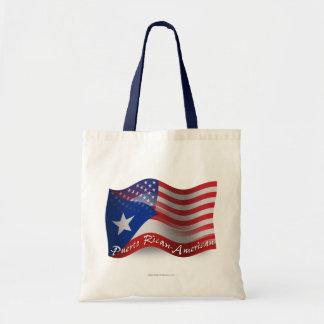 Bandera que agita Rican-Americana de Puerto Bolsa