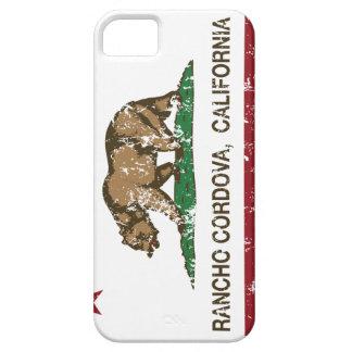 Bandera Rancho Cordova del estado de California iPhone 5 Carcasas
