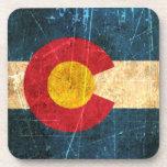 Bandera rascada y llevada de Colorado Posavaso