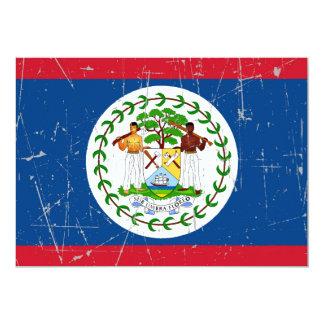 Bandera rascada y rasguñada de Belice Comunicados Personales