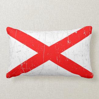 Bandera rascada y rasguñada de Irlanda del Norte Almohada