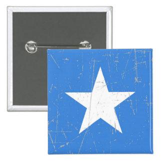Bandera rascada y rasguñada de Somalia Pin
