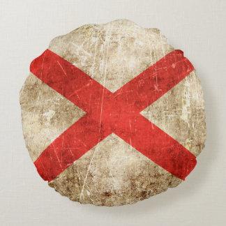 Bandera rasguñada envejecida vintage de Irlanda