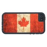 Bandera rasguñada y llevada del canadiense del iPhone 5 Case-Mate cobertura
