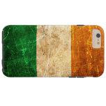 Bandera rasguñada y llevada del irlandés del funda de iPhone 6 shell