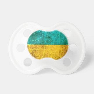 Bandera rasguñada y llevada del ucraniano del vint chupetes para bebés