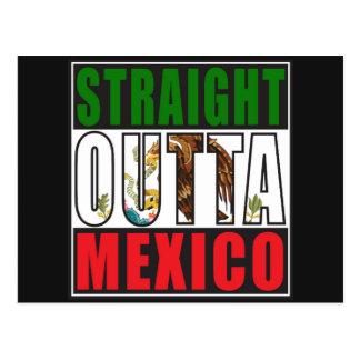 Bandera recta de Outta México Postal