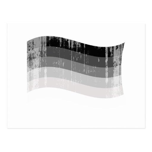 Bandera recta distressed.png del orgullo postal