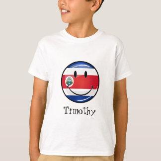 Bandera redonda brillante de Rican de la costa Playera