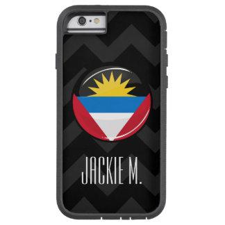 Bandera redonda de Antigua y de Barbuda Funda Tough Xtreme iPhone 6