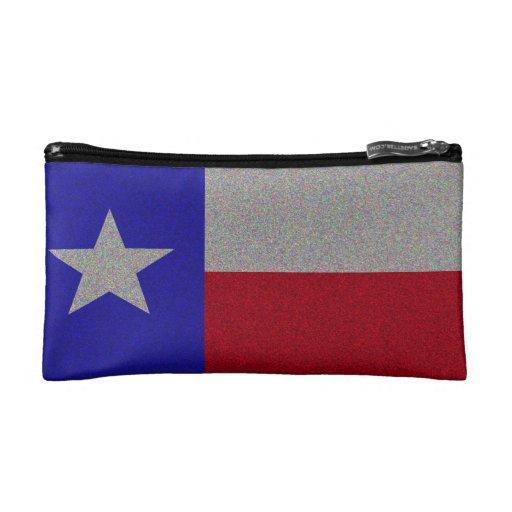 Bandera reluciente de Tejas
