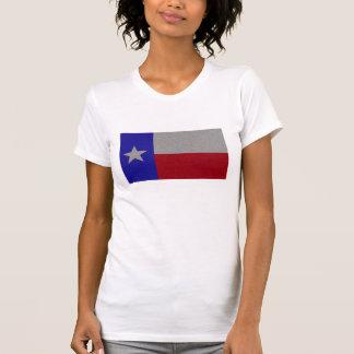 Bandera reluciente de Tejas Camisetas