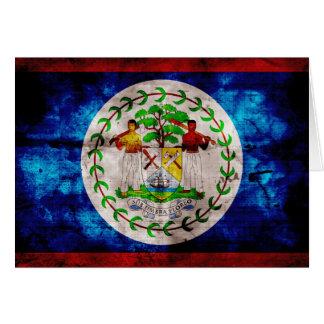 Bandera resistida de Belice Tarjeta Pequeña