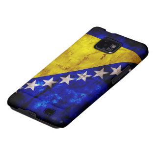 Bandera resistida de Bosnia Galaxy S2 Carcasa