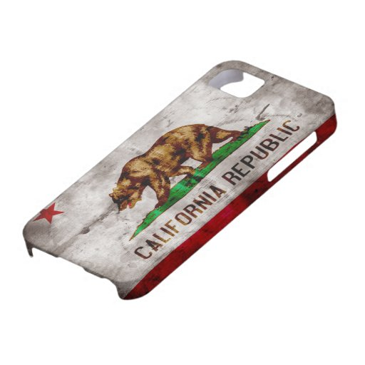 Bandera resistida de California Funda Para iPhone SE/5/5s