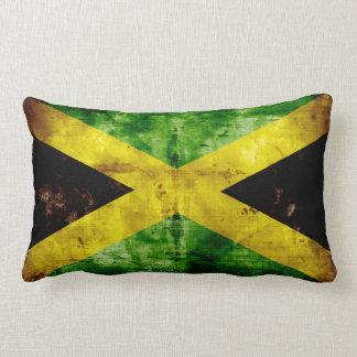 Bandera resistida de Jamaica Cojines