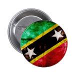 Bandera resistida de Nevis Pin
