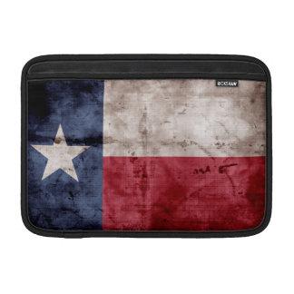 Bandera resistida de Tejas Fundas MacBook