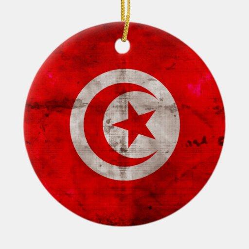 Bandera resistida de Túnez Adorno Para Reyes