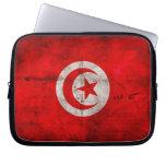 Bandera resistida de Túnez Fundas Ordendadores