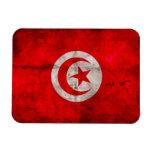 Bandera resistida de Túnez Iman De Vinilo
