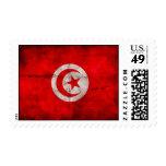 Bandera resistida de Túnez Sellos