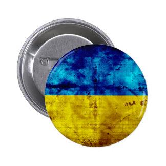Bandera resistida de Ucrania Pin