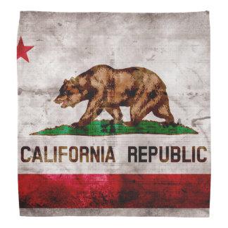 Bandera resistida del estado de California del Bandana