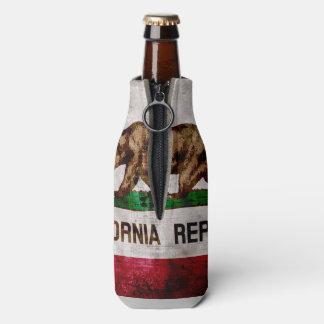 Bandera resistida del estado de California del Enfriador De Botellas