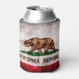 Bandera resistida del estado de California del Enfriador De Latas